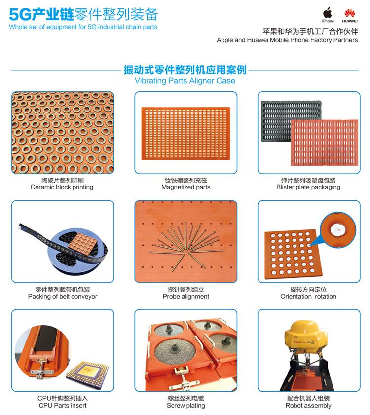 产品零件排列