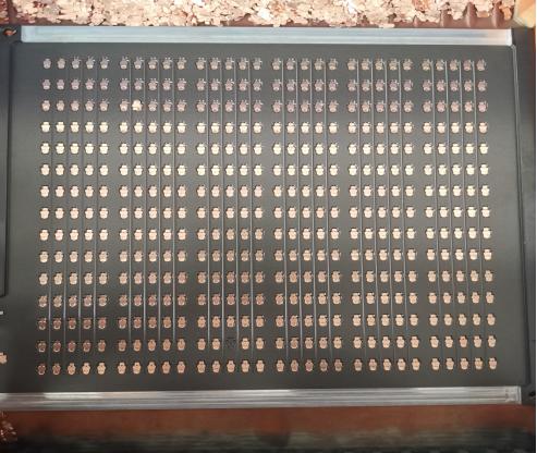 电子零件整列机
